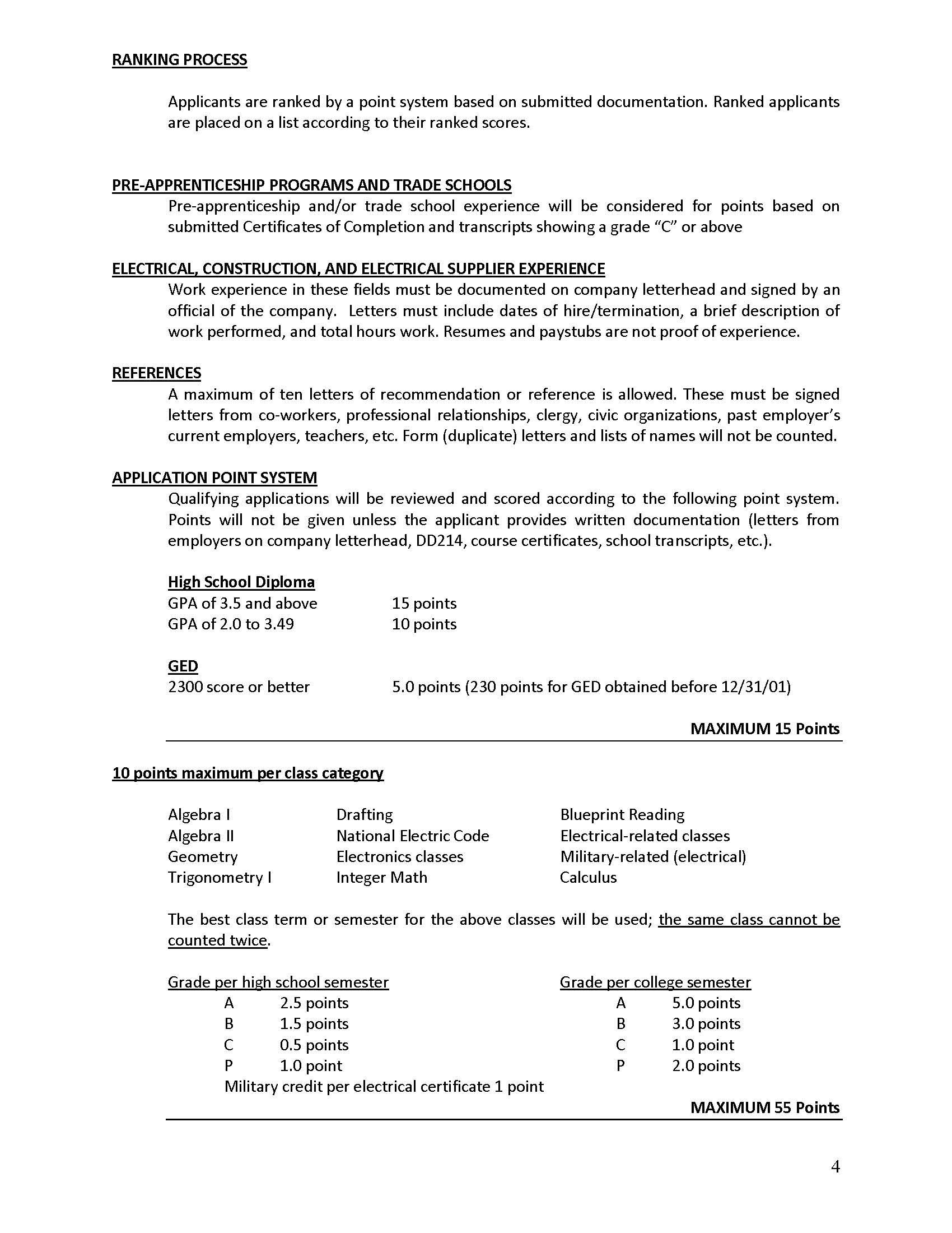 Apprenticeship Info